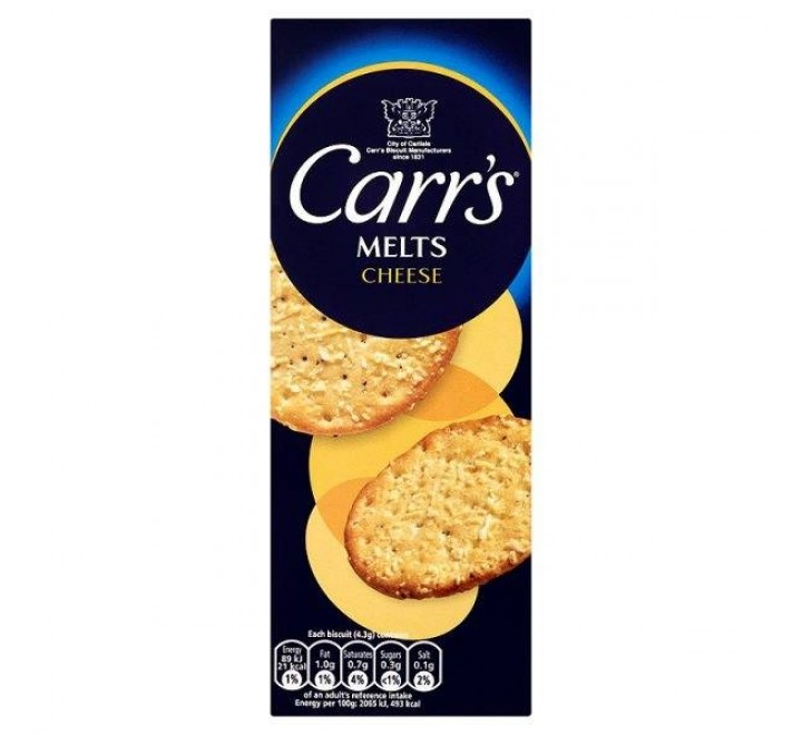 Carr's Melts Cheese (150g)