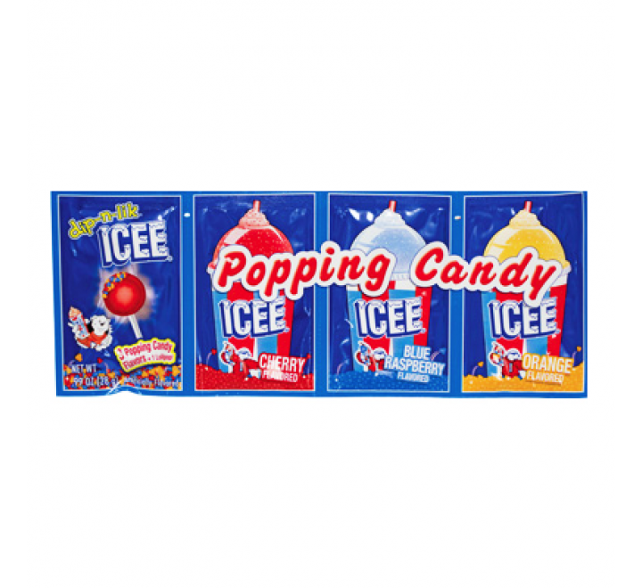 ICEE Popping Candy (4-pack) (28g)