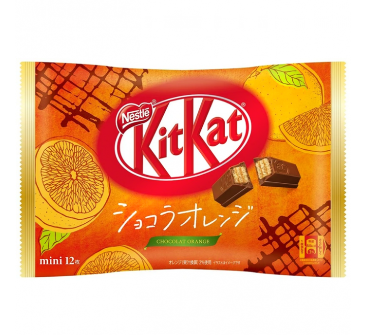 KitKat Mini, Chocolat Orange