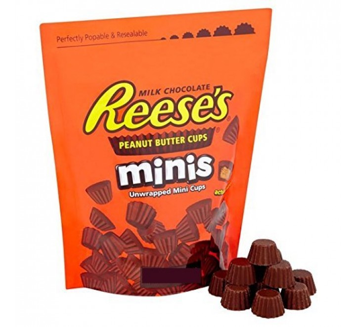 Reese's Minis Unwrapped Peanut Butter Cups (120g)