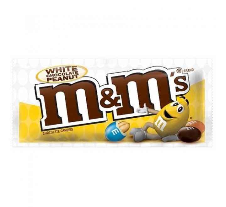 M&M's White Chocolate Peanut (39g)