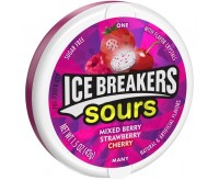 Ice Breakers Sours, Mixed Berry (42g)