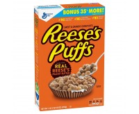 Reese's Peanut Butter Puffs Cereal, Large (510g) USfoodz