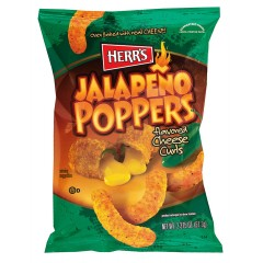 Herr's Jalapeño Cheese Curls (199g)