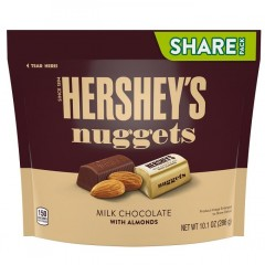 Hershey's Nuggets Milk Chocolate with Almonds (286g)