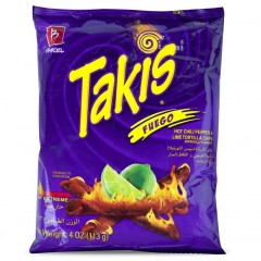 Takis Fuego (113g) (BEST BY DATE 29-09-21)